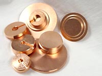 Copper pucks