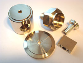 Nickel plated parts
