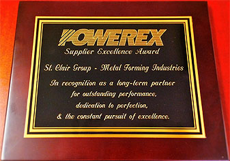 Powerex award